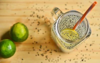 Lemon basil seed cooler